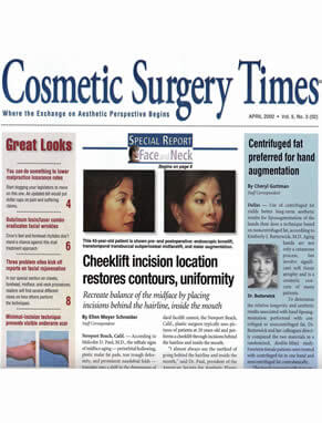 Cosmetic Surgery Times Featuring Dr. Marc Zimbler