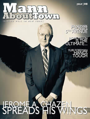 Mann About Town Magazine With Dr. Zimbler