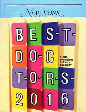 Dr. Zimbler Named A Top Doctor For 2016