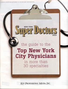 Dr. Zimbler Named A 2010 New York Super Doctor